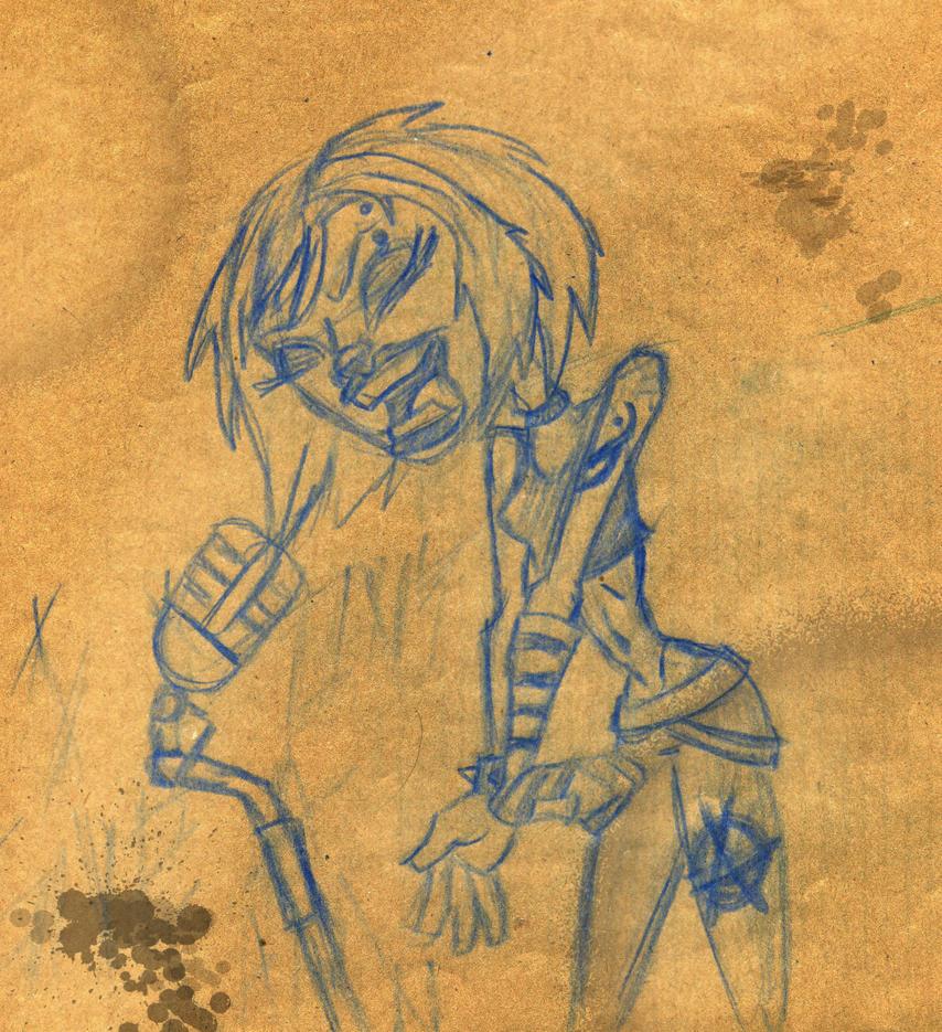 Punk singer by lordm
