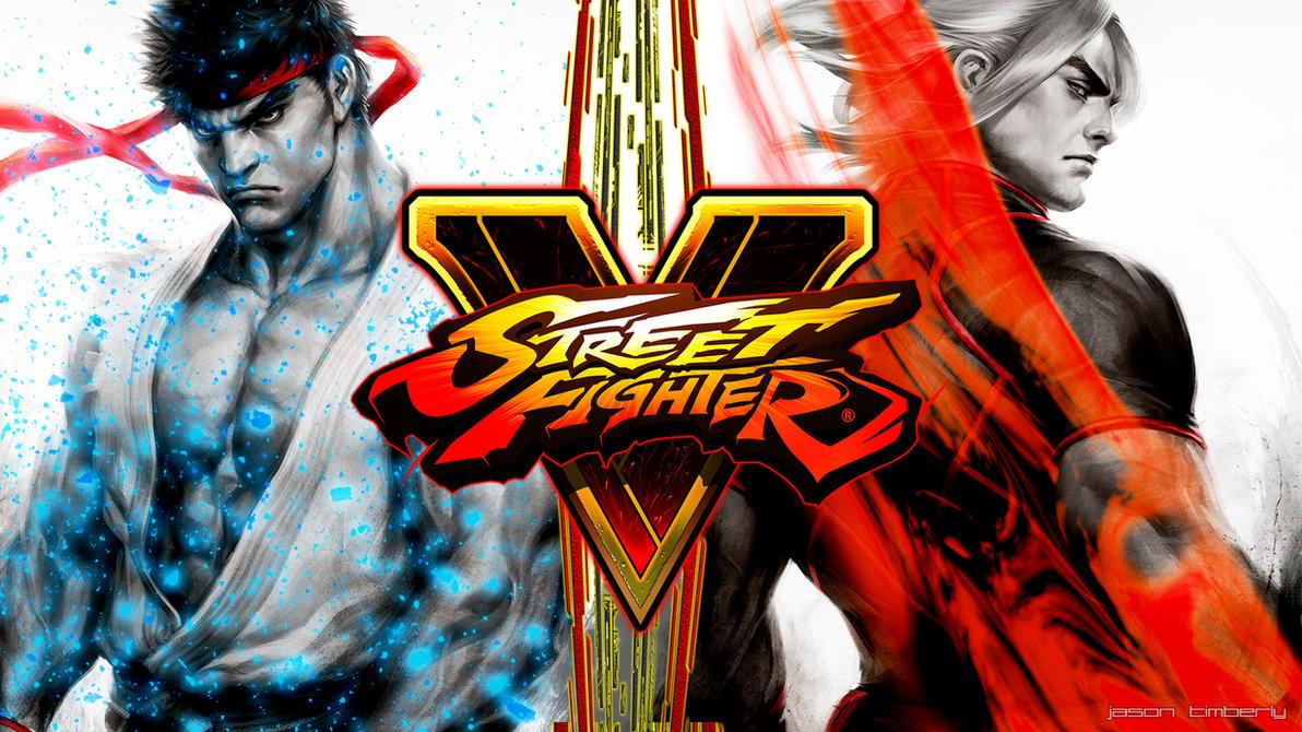 street fighter v ryu and ken wallpaperjasontimberly on deviantart