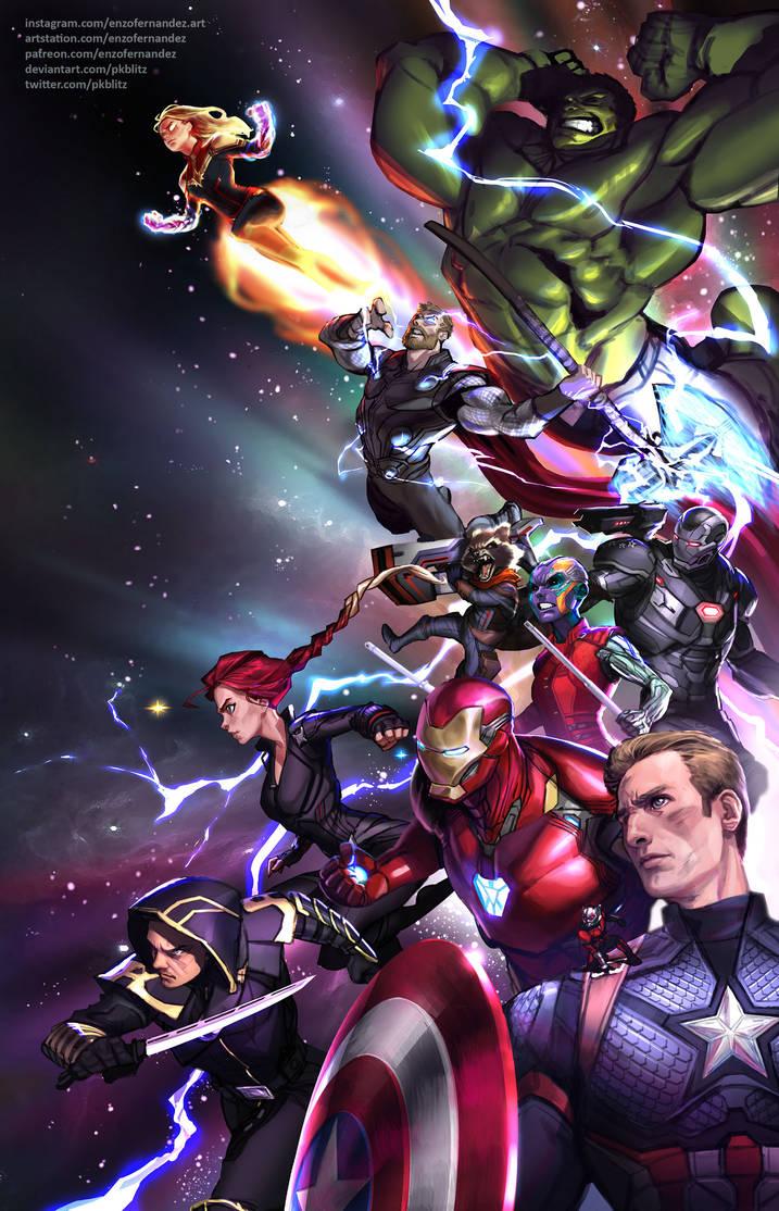 Avengers: Endgame by PkBlitz
