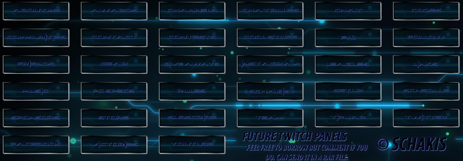 Future twitch panels by schakis