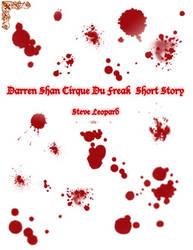 Darren Shan Fanfic Cover by SakuraNatsumi