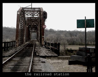 the railroad station II. by le-coeur-d-asie