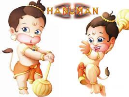 Little Hanuman by flamethrower22