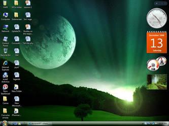 Desktop Today by flamethrower22