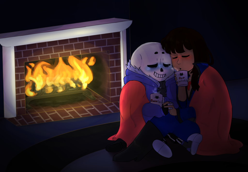 A SanXFrisk commission by gross-ghost by ReneesDetermination