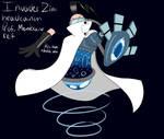 InvaderZim  headcanon Prof Membrane ref by RadioDemonDust