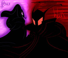 IZ headcanon TheAlmightyTallest's silhouettes RaPr by RadioDemonDust