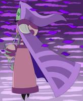 IZ headcanon Tallest Purple: Sorrowful Elegance by RadioDemonDust