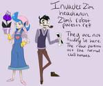 IZ headcanon Zim's robotic parents ref