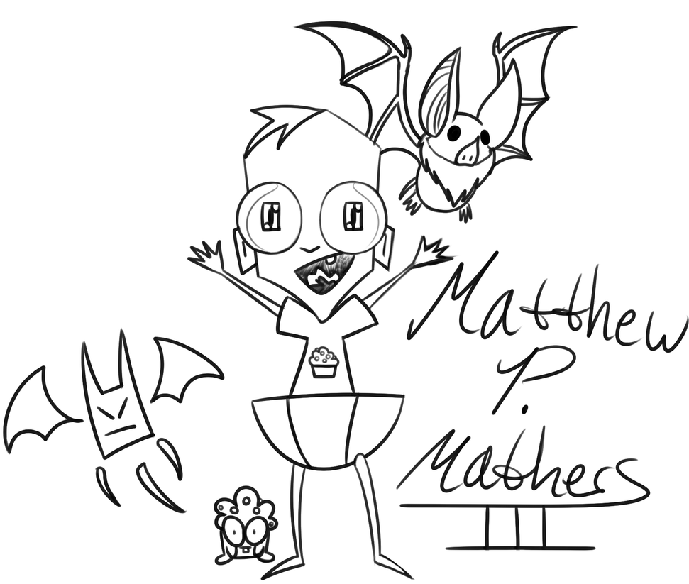 Iz Headcanon Baby Matthew P Mathers Iii Doodle By border=