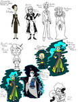 IZ headcanon finalized character art by RadioDemonDust