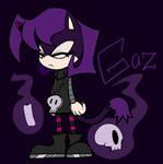 IZ headcanon Gaz as a mobian