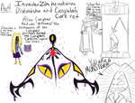 IZ headcanon Distortsha and Corruption's Core ref by RadioDemonDust