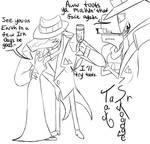 IZ headcanon TaSr doodles by RadioDemonDust
