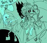Splatoon2 / InvaderZIM crossover