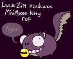 IZ headcanon Minikitty ref by RadioDemonDust
