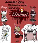 IZ headcanon Akume's band Unmei arc 2 ref by RadioDemonDust
