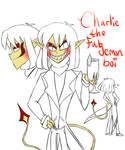 Charlie the demon fab demon boi concept art