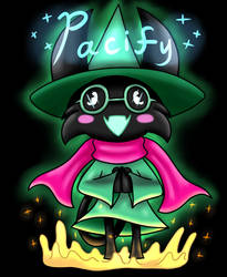 Umokori as Ralsei commission by RadioDemonDust