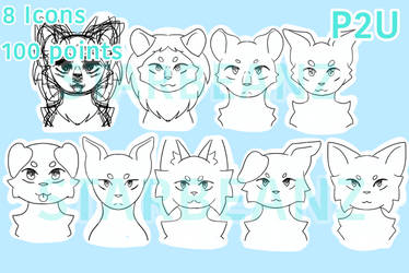 P2U Icon bases by StarBeanz