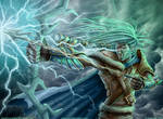 Epic Awesome DnD Elven Archer