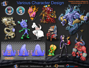 Various Game Characters
