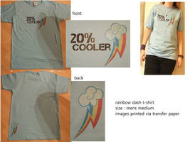 rainbow dash t-shirt by sasukeharber