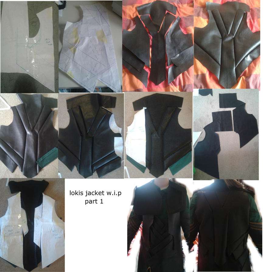 lokis jacket w.i.p part one by sasukeharber
