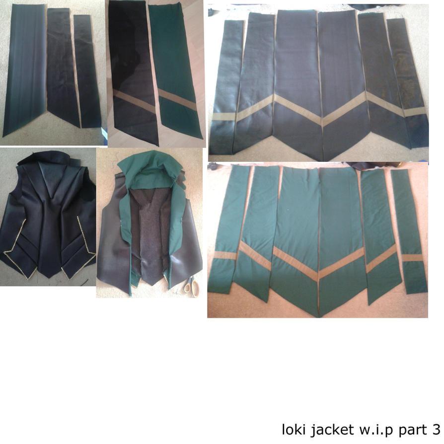 loki jacket w.i.p part 3 by sasukeharber