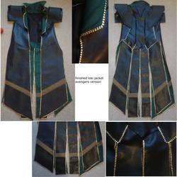 finished loki jacket by sasukeharber