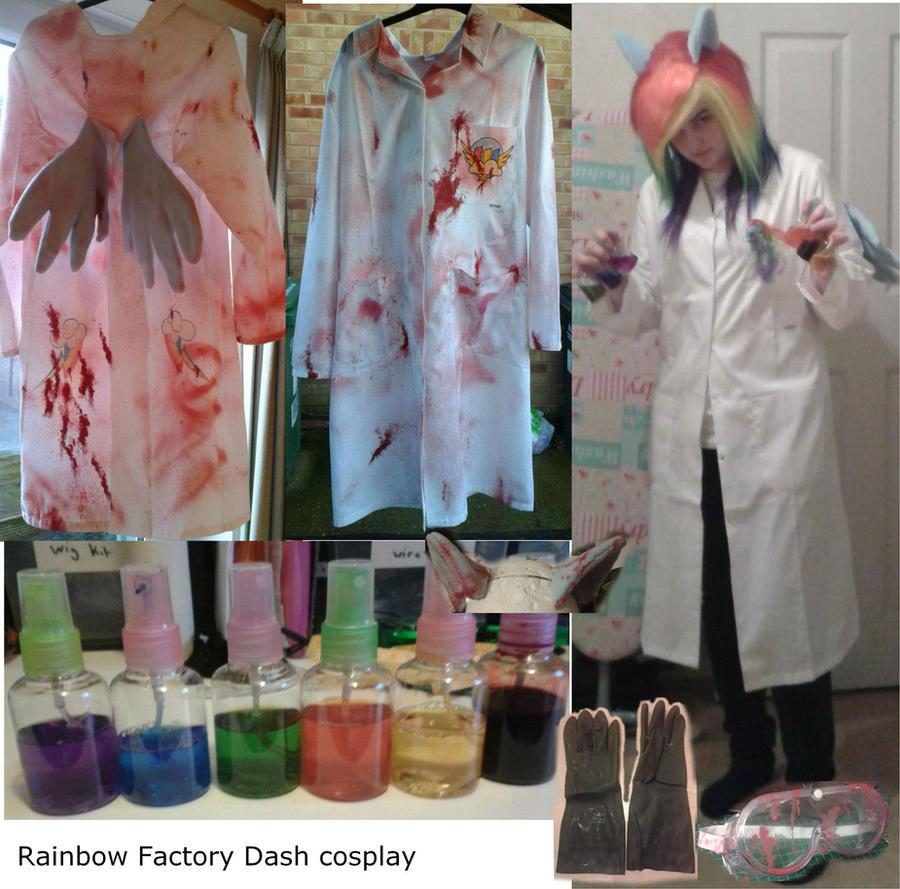 Rainbow Factory Dash cosplay by sasukeharber