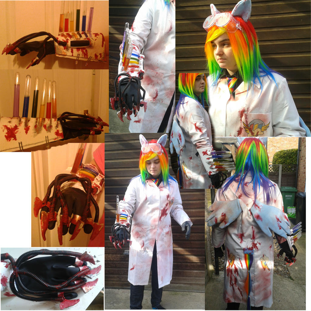 Finished Rainbow Factory Dash Cosplay by sasukeharber