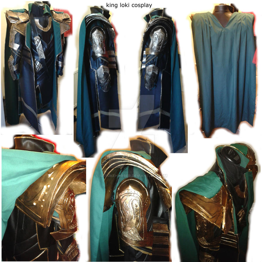 Finished Loki Cosplay  by sasukeharber