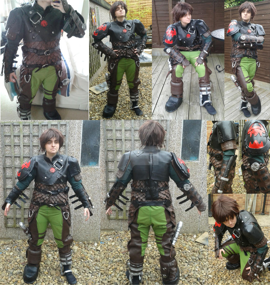 Hiccup - How To Train Your Dragon 2 by sasukeharber