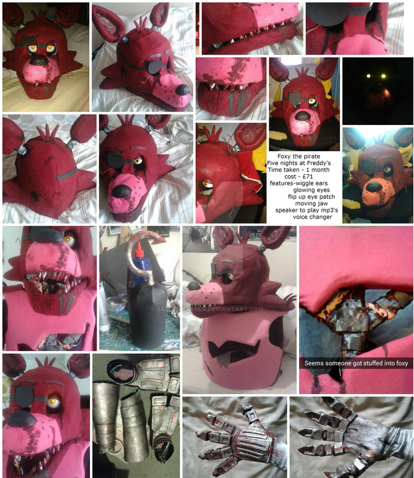 Foxy - Five nights at freddy's cosplay by sasukeharber