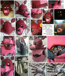 Foxy - Five nights at freddy's cosplay