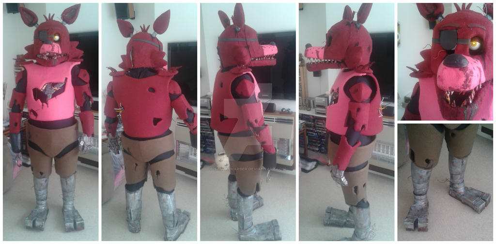 Five nights at freddy s foxy costume ebay foxy five nights at freddy s