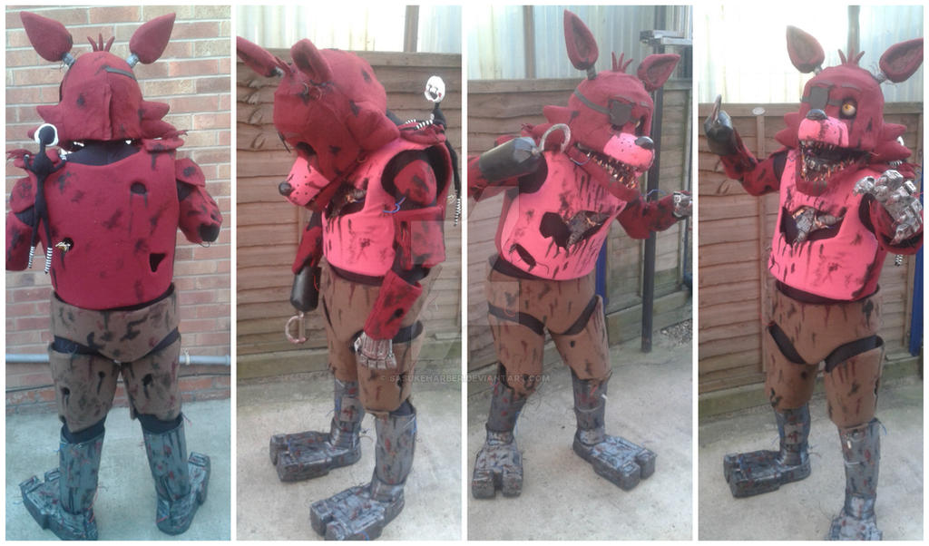 Foxy five nights at freddy s cosplay upgrade 2 by sasukeharber on
