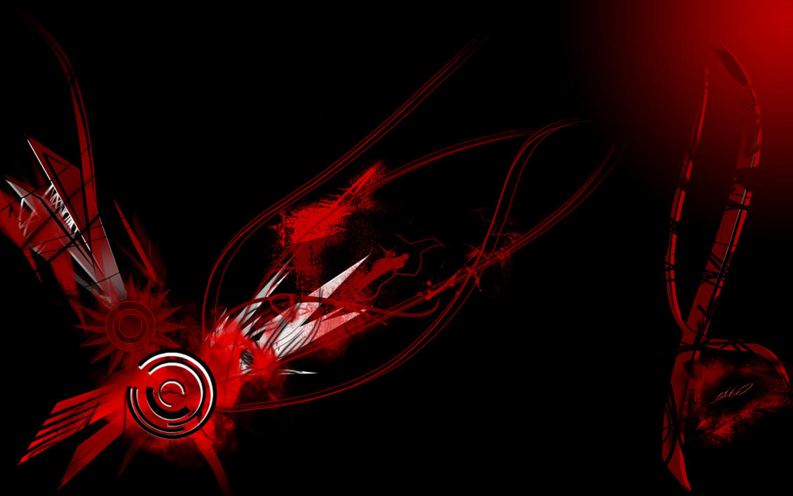 red black wallpaper widescreenecco666 on deviantart