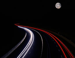 nightly light tracks by ecco666