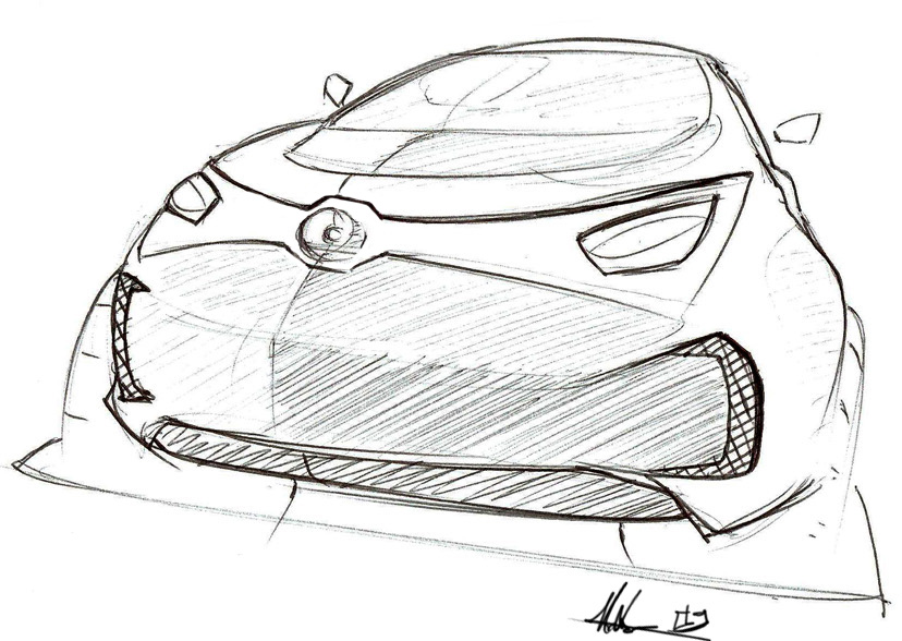 another small car concept by ecco666