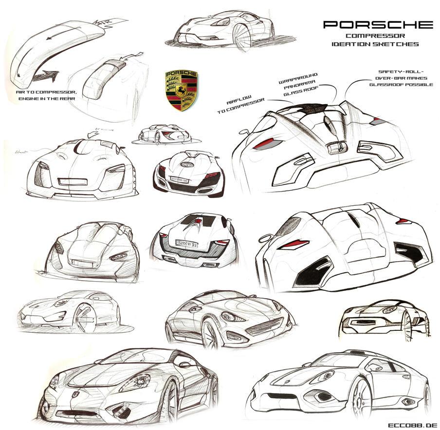 porsche sketchwork update by ecco666