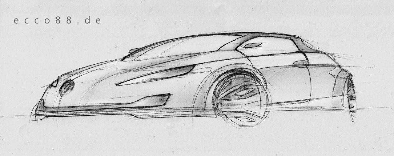 another quick car sketch by ecco666 on DeviantArt