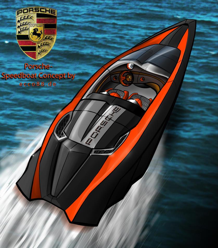 Porsche Speedboat Concept by ecco666