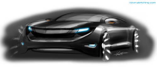 Camaro Design Sketch