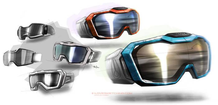snowboard goggle designs