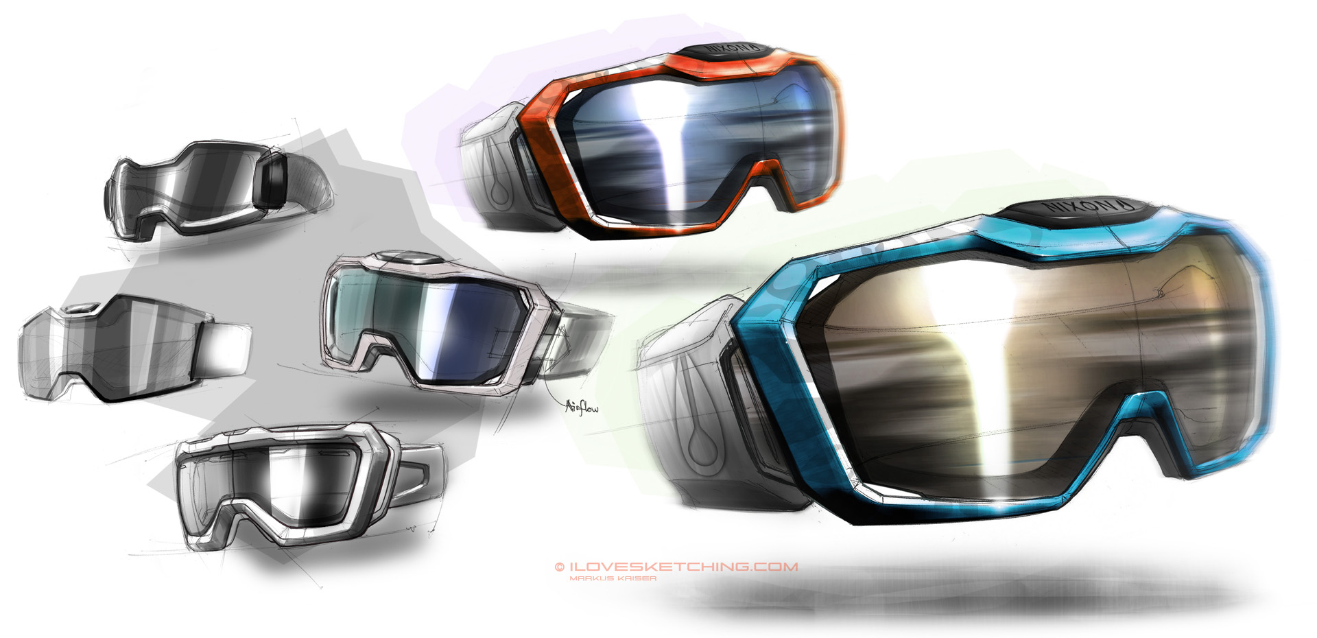 snowboard goggle designs by ecco666