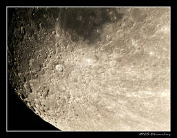 Moon Detail - Tycho Crater by RRVISTAS