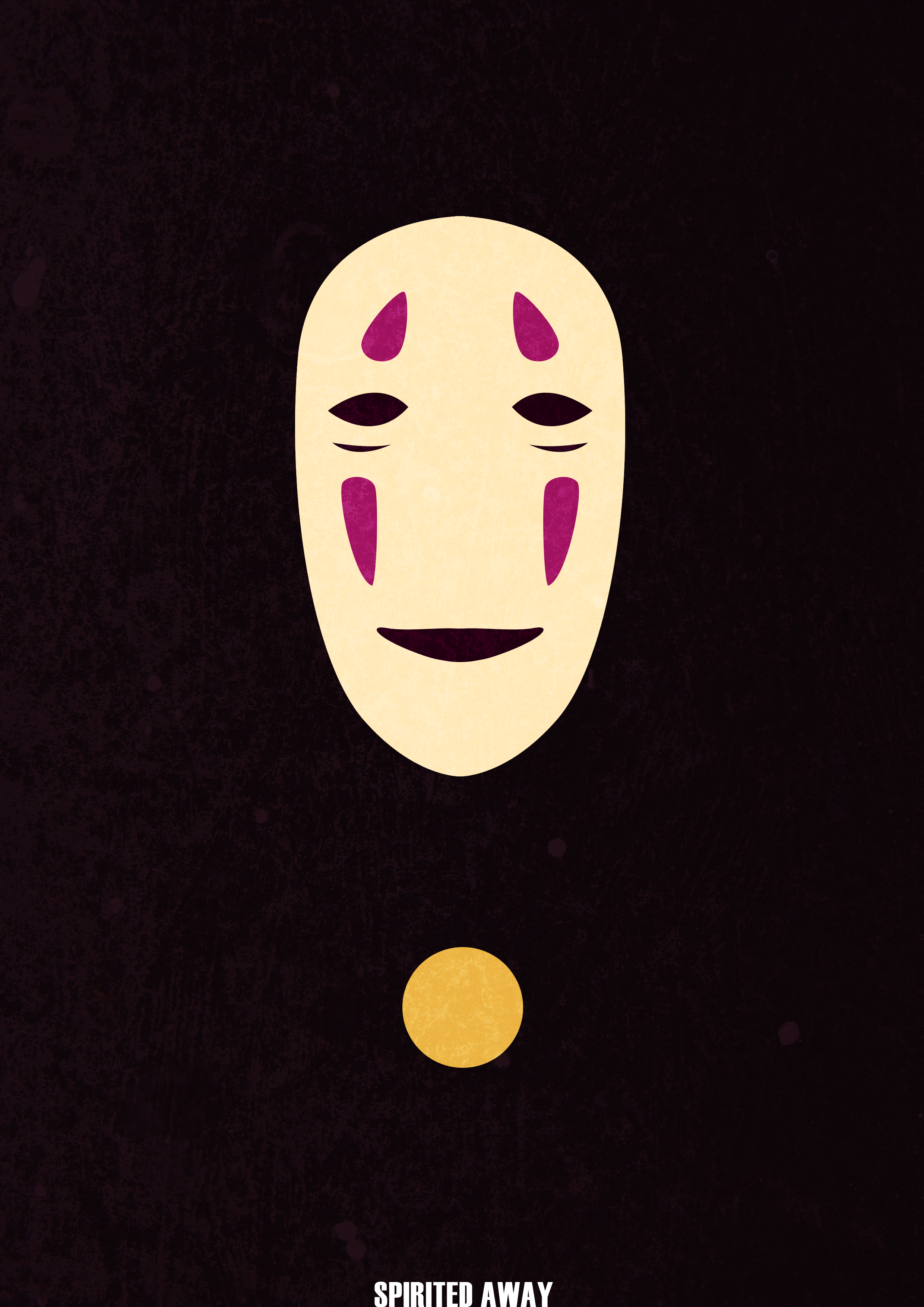 Minimalist spirited away poster by boredbored on deviantart for Minimal art reddit