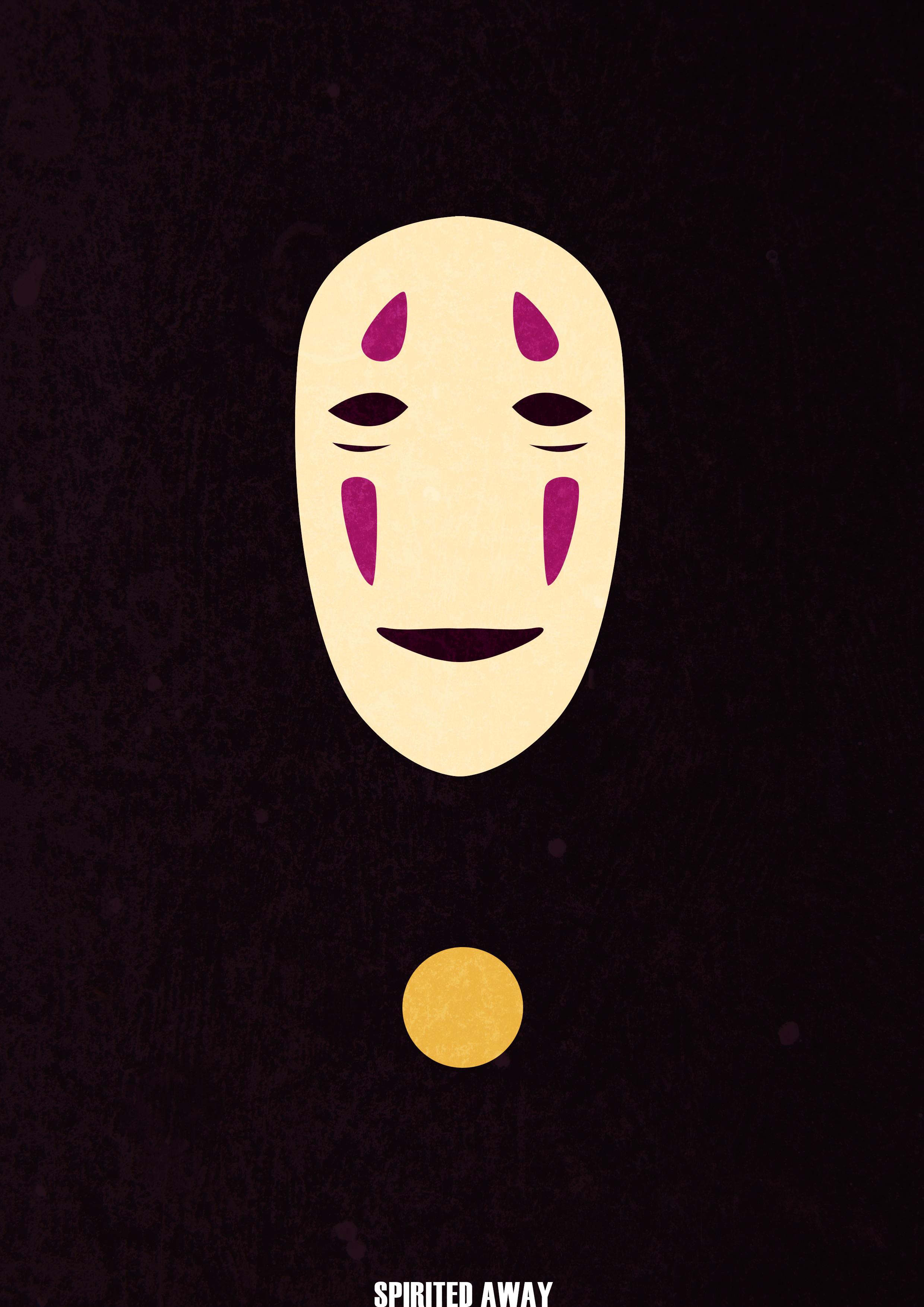 Minimalist Spirited Away poster by BoredBored on DeviantArt